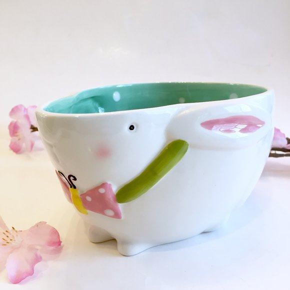 Other - Spring Bunny Bowl/ Candy Dish